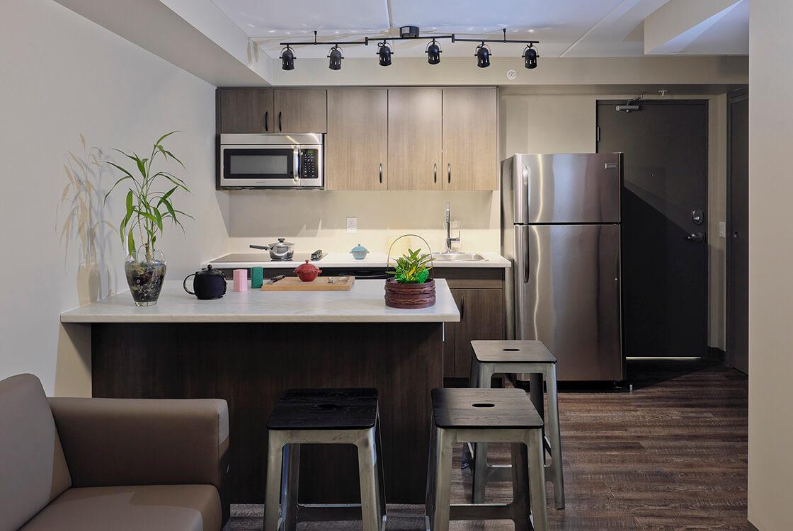 Common modern kitchen
