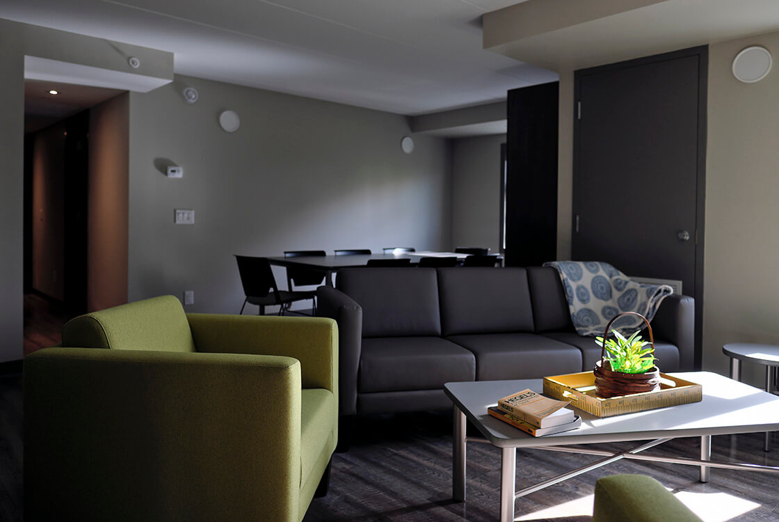 Comfortable modern space